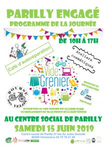 journée festive centre social parilly
